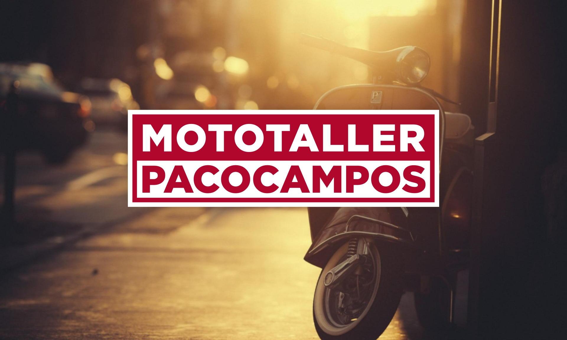 Mototaller Paco Campos
